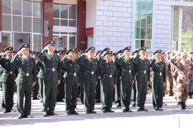 西藏军区某团:红旗迎风扬,祖国在我心-第3张