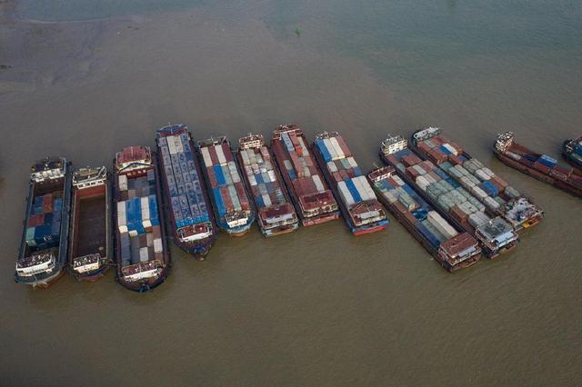 全世界航运业受阻正磨练