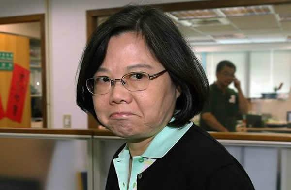 """蔡英文与国民党""""维持现状""""哪不同?蔡:我不接受九二共识www.smxdc.net"""