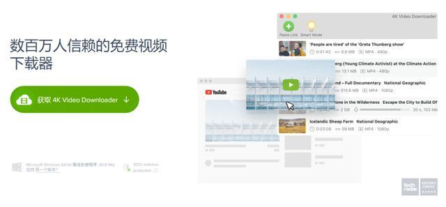 油管 Youtube 视频下载器,4K Download 了解下,全部免费下载 资源分享
