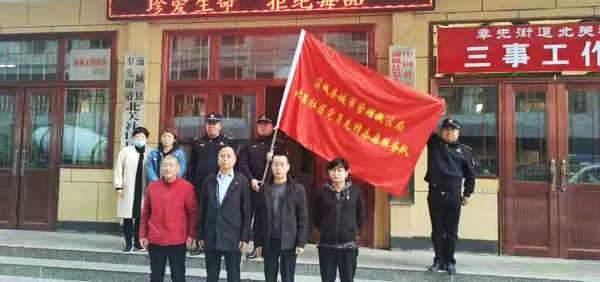 """蒲城县城市管理执法局:全力推进党建""""留心护根""""工程"""