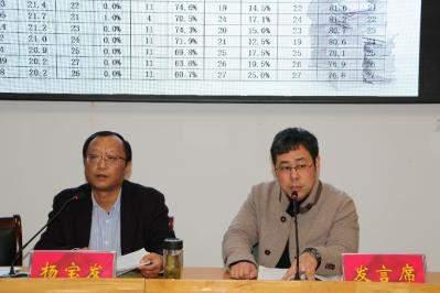 楚州實中承辦全區兩學科教學研討活動