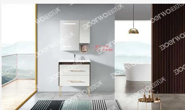 浴室柜新品上市!这些浴室柜好看又实惠,买完绝对不后悔!