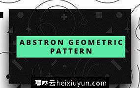 质感丰富的几何图形无缝背景 Abstron_Geometric_Pattern #1631763