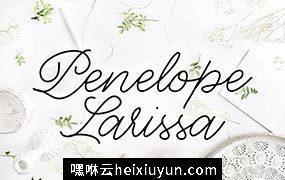 佩内洛普拉里萨字体 Penelope Larissa Font #1729660