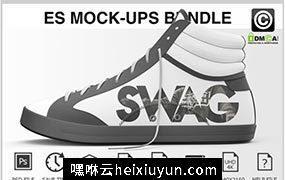 运动鞋贴图模型Sneakers Shoes Mockups Bundle #401877