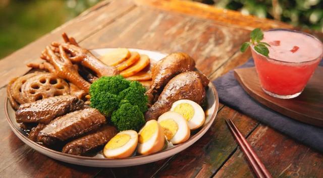 卤味拼盘,肉又香又烂,爱吃卤味的有口福了