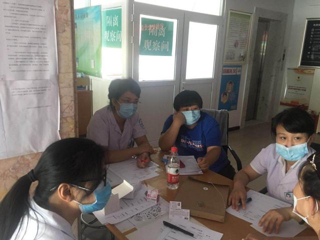 大连港医院赴社区开展城乡居民基本医保「两病」集中认定工作