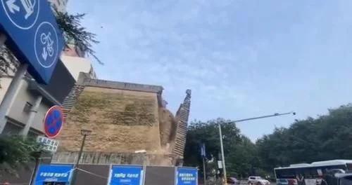 官方通报西安明秦王府城墙坍塌:文物本体未受到破坏