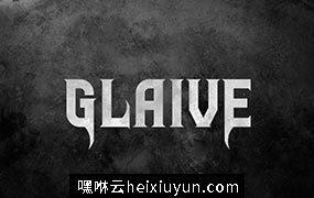 奇幻风格的英文字体 Glaive Typeface #479497