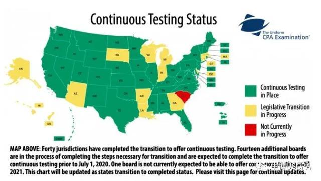 USCPA考试预约新政策--全年可考!