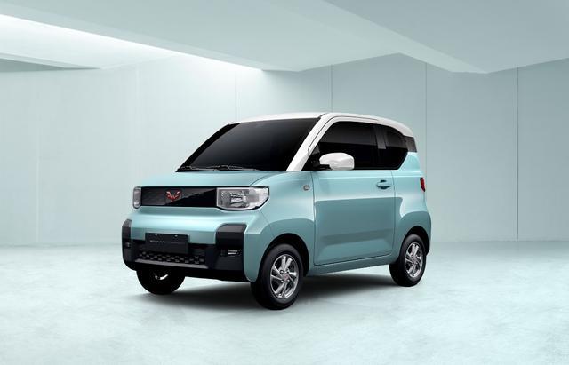 酷似日本K-CAR 上汽通用五菱首款四座新能源车曝光