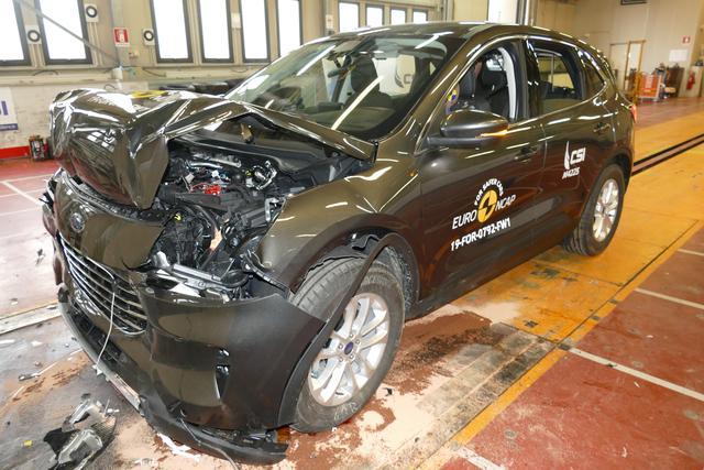 E-NCAP最新一批結果發布 歐版福特銳際側面夠硬