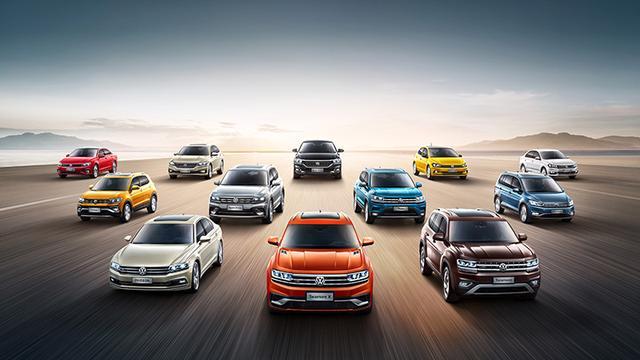 上汽大眾2019年銷售2,001,777輛