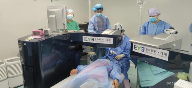 全球首例 3D 引导老视手术在沈阳爱尔眼科完成