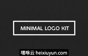 一套精美的LOGO徽章标志快速生成工具包 Minimal Logo Kit #516223