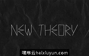 个性的手绘字体 New Theory  Font #886.jpg