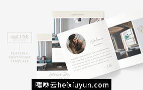 现代室内设计/家居生活产品图册模板 Modern Interior Design Lookbook 3741527
