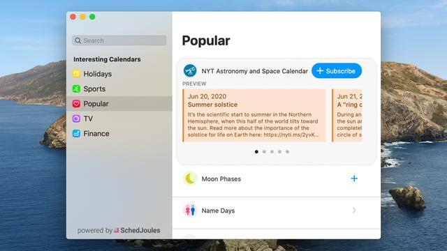 macOS必备软件之高颜值日历「Fantastical」 Mac软件教程 第5张