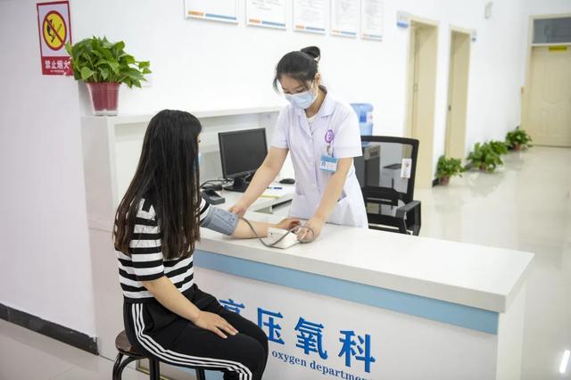阜阳市妇女儿童医院高压氧科正式开诊!