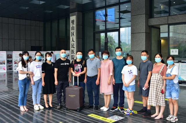 重庆市璧山区人民医院援京「病毒检验战士」平安回家了