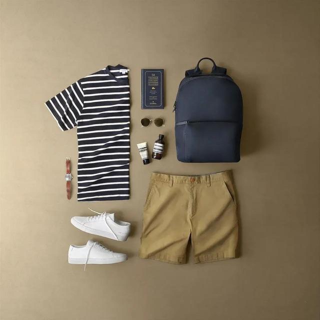 夏季潮男一周穿出不重样的穿搭