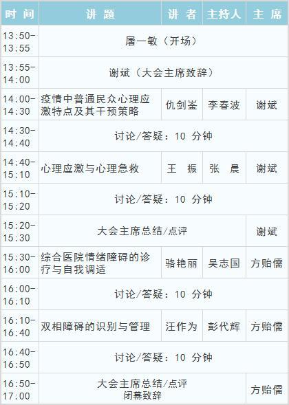 直播报名丨大咖云上畅谈,上海市第一届情绪与心理健康公众论坛等你来