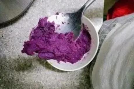 孩子爱吃的酥脆奶香紫薯饼,有锅做
