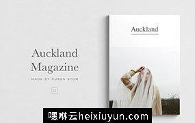 极简主义多功能杂志画册设计模板 Auckland-Magazine #1774314