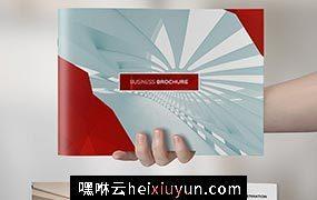 干净的商业画册模板 Clean Elegant Business Brochure