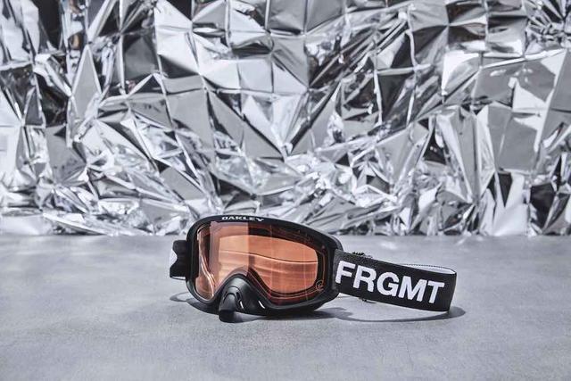 OAKLEY与fragment design推新款联名眼镜,只有帅可以形容
