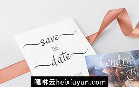 现代书法英文字体 RSVP Display Calligraphy Font  #3335444