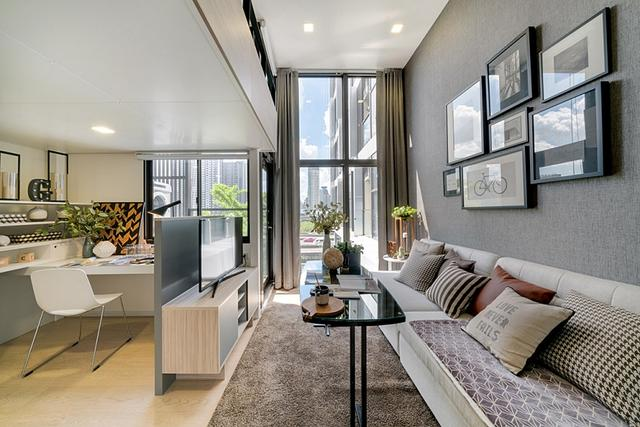顶级挑高阁楼宅设计!曼谷 Chewathai Asoke 酒店式公寓