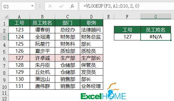 Excel教程:VLOOKUP函数常用招数