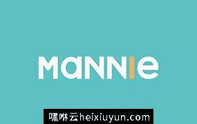 Mannie Typeface