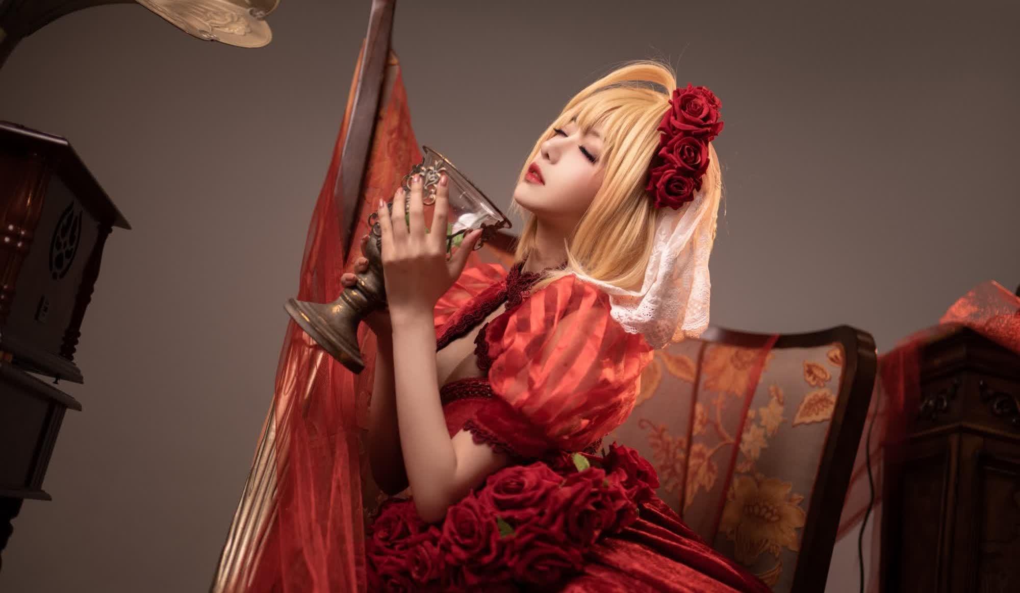 Shika小鹿鹿《玉玲珑 尼禄礼服》【24张图】