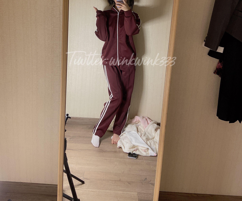 推特可爱女孩@wink是可爱的校服  紫薇喷泉【42P+1V   506 M】