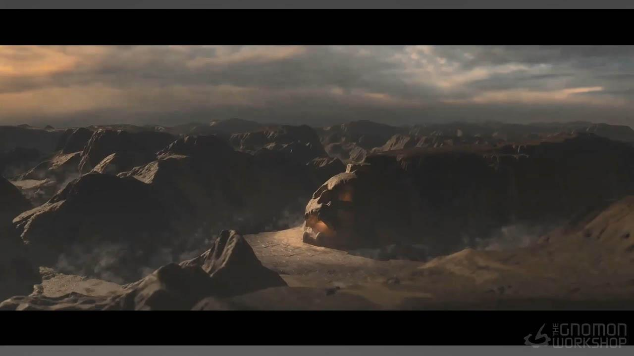 3D Landscapes with Houdini and Clarisse - Houdini+Clarisse制作真实自然三维场景教程
