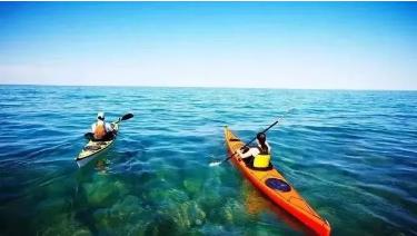 南澳水上皮划艇