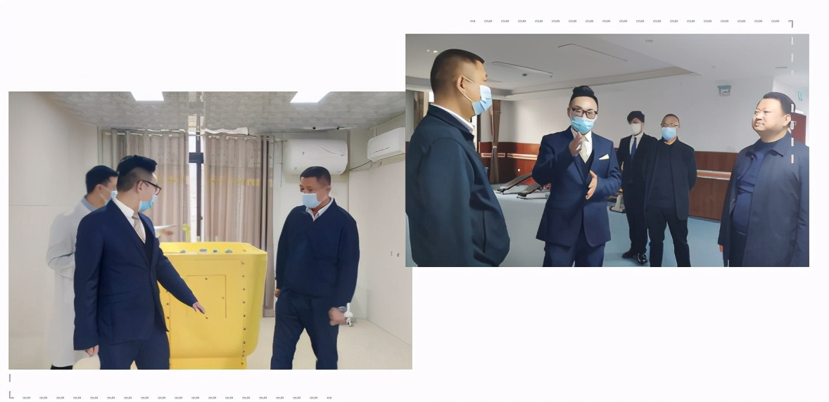 徐磊院长参观残疾人托养中心