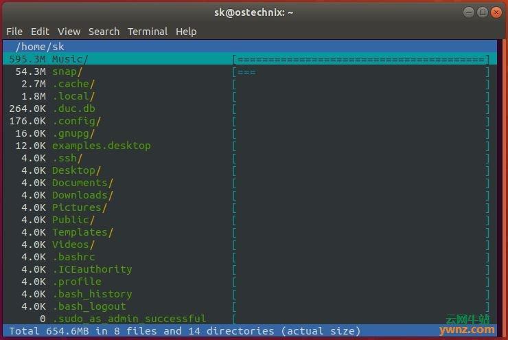 在Linux系统下安装和使用Duc的方法