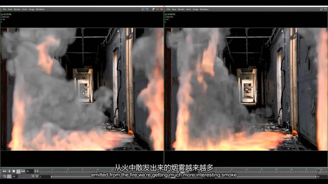 Houdini大师培训课程(Module IV - Uncontrolled Chaos) The Vfx School - Houdini Renascence Program Vol 02