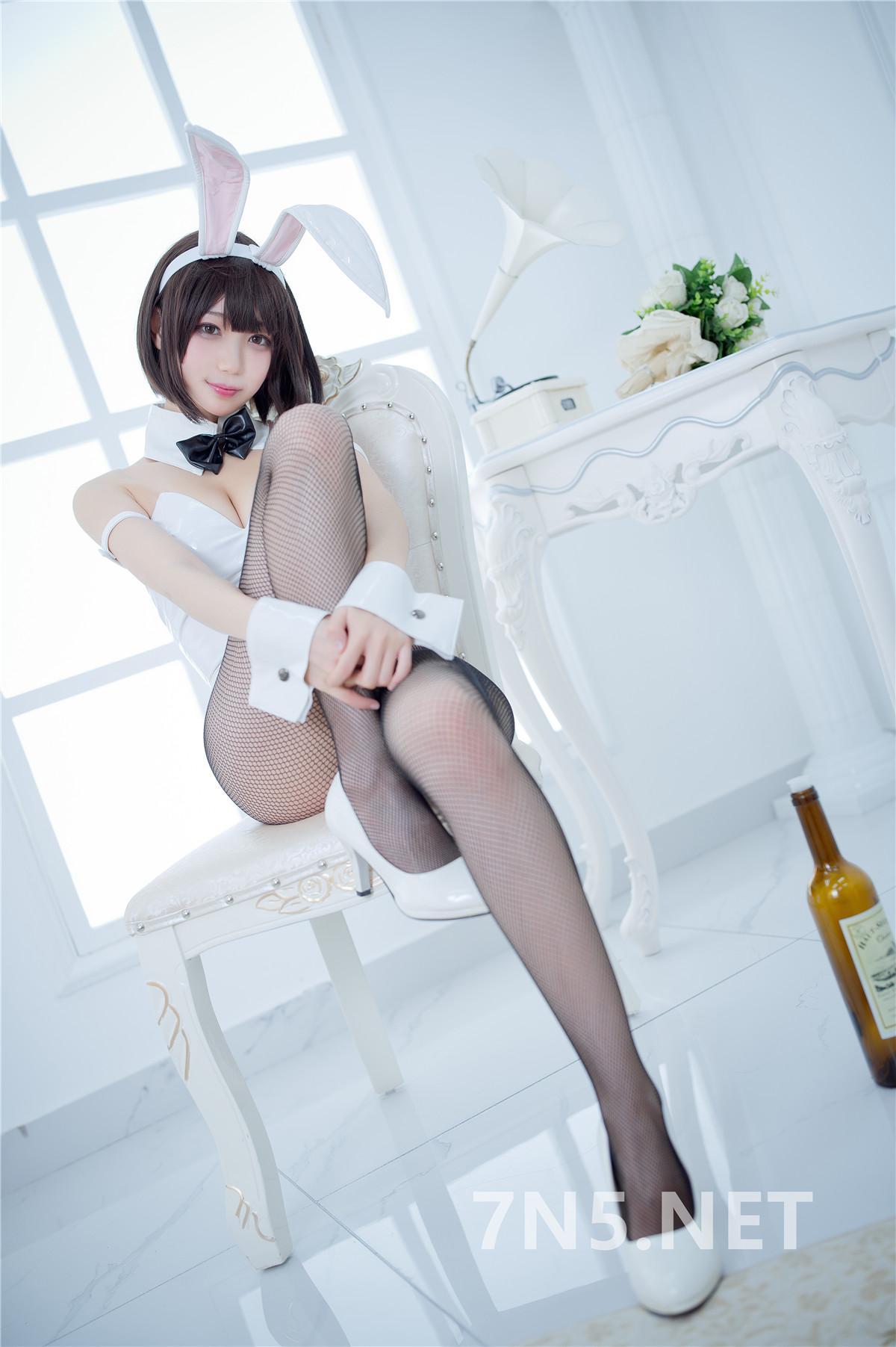 微博Coser@周叽是可爱兔兔 – 加藤惠兔女郎[32P-346MB]