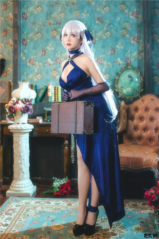 樱落酱图包合集丨贝法礼服