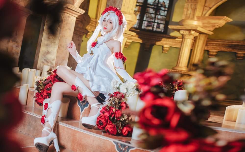 【cosplay】南桃Momoko图包合集精选丨德丽莎花裳月纱