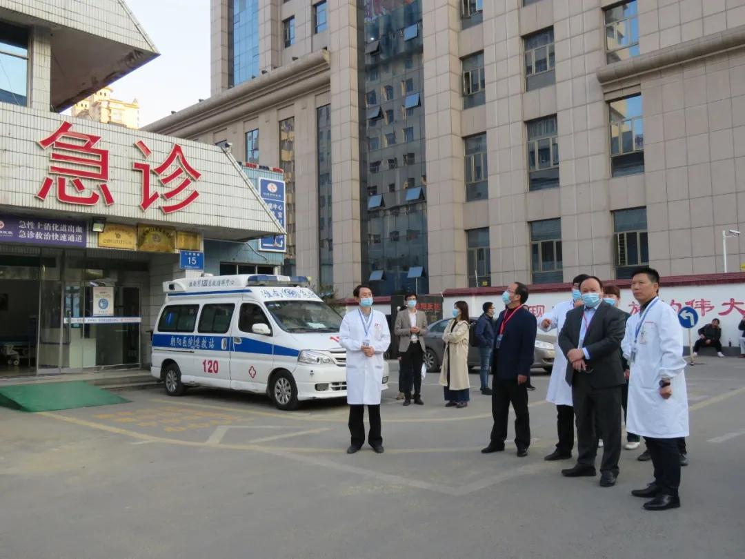 淮南朝阳医院顺利完成国家「急性上消化道出血急诊救治快速通道」 项目实地考评工作