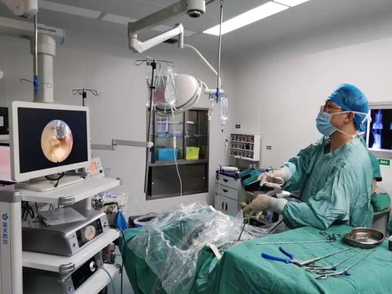 岳池县人民医院顺利开展首例椎间孔镜手术